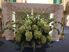 Ordinary Time Arrangement At St What Others Are Saying Catholic Church Decorations