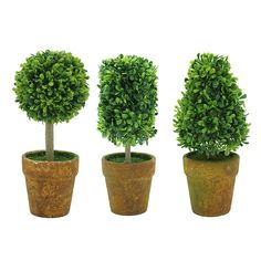 MandY Graden Artificial Green leaf Plants and Trees for Home Office Decor , Pack of 3 ** See this great product.