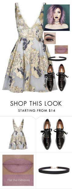"""Untitled #634"" by jaden-cashew-hottie ❤ liked on Polyvore featuring Notte by Marchesa, H&M and Humble Chic"