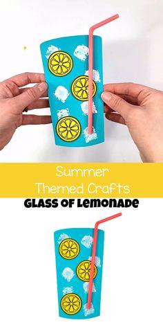 Preschool Beach Crafts, Beach Crafts For Kids, Beach Themed Crafts, Summer Arts And Crafts, Daycare Crafts, Classroom Crafts, Kindergarten Activities, Toddler Preschool, Toddler Crafts
