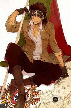Hispanic Anime Girl : hispanic, anime, Latin, Anime, Characters, Ideas, Anime,, Hetalia,