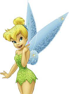 Glitter Tinkerbell - Disney image #695 for sharing on Facebook, Tumblr, Google+, Twitter or Pinterest.