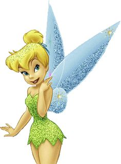 Glitter Tinkerbell - Disney image #695 for sharing on Facebook, Tumblr, Google+, Twitter or Pinterest.