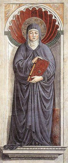 Berber Saint Monica and the mother of the Berber St. Augustine of Hippo.