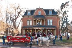 Robison Mansion Canon City, Colorado - enchanted Christmas - see more at: http://www.house-crazy.com/the-robison-mansion-in-canon-city-colorado/