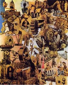 Hannah Hoch - Cut with the Kitchen Knife Through the First Epoch of the Weimar Beer-Belly Culture, 1919.