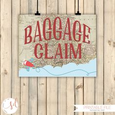 Vintage Travel Airplanes Birthday Party Sign Baggage Claim Sign Around the World Theme Decor Baby Shower Decor Old Maps Decor Digital by SquishyDesignsbyMe on Etsy Baby Shower Themes, Baby Shower Decorations, Shower Ideas, Around The World Prom Theme, Vintage Travel Themes, Prom Themes, Airplane Party, Travel Party, Thinking Day