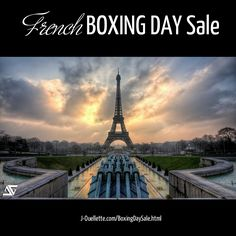 YOUR GOAL: if you need all the knowledge of the French language and culture, to get by in your next trip to Paris, then this is for you. Do you want to master the basics of the French language so that you can make conversation even if you are a beginner and amaze your friends with your confidence? Come on over to the French Boxing Day Sale at 6pm EST, for a Q&A about the self-study program FROM NEWBIE TO OH, LÀ-LÀ, that saves you $60. http://j-ouellette.com/boxingdaysale.html