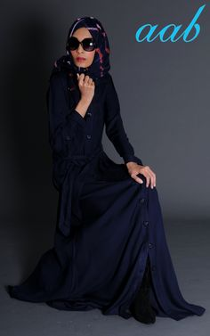 Downtown Abaya. A front open classic trench.. #everyday #workwear