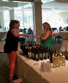 Hoover Country Club ladies' Night wine tasting. 2015