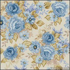 Gallery.ru / Подушка Голубые розы - Подушка Голубые розы - nika04