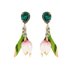 Upside-down tulips By @dolcegabbana via @matchesfashion #anotherloves #jewellery #tulips #excellentearrings