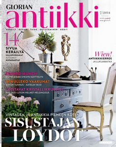 Magazine Cover Cute rococoo desk suits well even to a small study. Small Study, September 2014, Rococo, Desk, Magazine, Suits, Vintage, Cover, Furniture