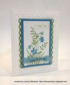 Cute.  Great idea for birthday, get well, sympathy or hello cards.