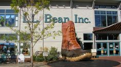 L.L. Bean in Freeport, Maine, has grown into an amazing seven-acre campus! Read the story: http://newenglandtravelnews.blogspot.com/2014/12/ll-bean-in-freeport-maine-features.html #llbean #freeportmaine