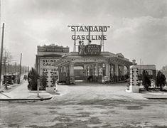 "Washington, D.C., circa 1926. ""Minute Service Station, Georgia Avenue N.W."""