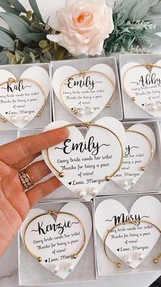 Bridesmaid Gift Boxes, Bridesmaid Proposal Gifts, Wedding Gifts For Bridesmaids, Asking Bridesmaids, Gifts For Wedding Party, Wedding Cards, Diy Wedding, Wedding Favors, Wedding Invitations
