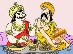 The Fall And Rise of A Merchant - Panchatantra Story Picture