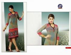 Beautifully designed indo-western Georgette Kurti digitally Printed Pista green color. Available in sizes from S to XL