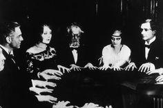 """Rudolf Klein-Rogge, Alfred Abel, """"Dr. Mabuse Der Spieler (the Gambler)"""", directed by Fritz Lang, 1922"""