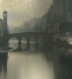 An amazing picture taken of Verona in the Winter. The photo is slightly haunting! We can feel the chill of the cold!