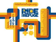 Ride for Refuge - participating cities Moncton Nb, Red Deer, Peterborough, Ottawa, Calgary, Vulnerability, Montreal, Fundraising, Vancouver
