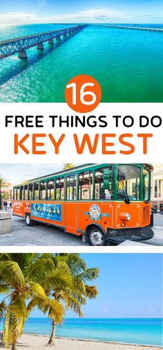 16 Free Things to do in Key West (+ the best paid activities to choose) Florida Keys Map, Florida Keys Hotels, Florida Keys Camping, Key West Florida, Key West Camping, Fl Keys, Best Beach In Florida, Florida Vacation, Florida Travel