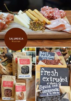Salumeria in the Mission, San Francisco. From the Spotted SF blog.