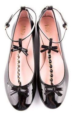 Valentino Bow Flats ღ