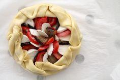 Tarte italienne tomates mozzarella aubergines montage 10