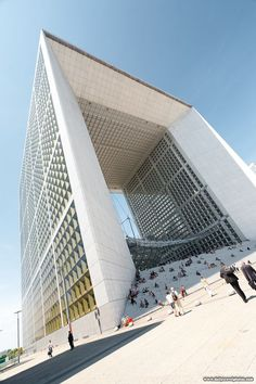 Grande Arche de La Defense, Paris, France:
