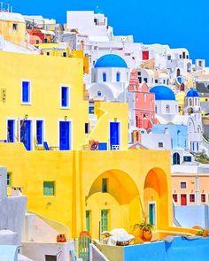 Santorini, Greece, travel, destinations