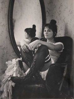 Claudia Cardinale starring as a prostitute in La Viaccia /The Lovemakers,1961 [also] by Pierluigi Praturlon