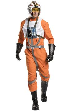 Grand Heritage X-Wing Fighter Pilot Adult Costume #starwars #Halloween #costumes #cosplay