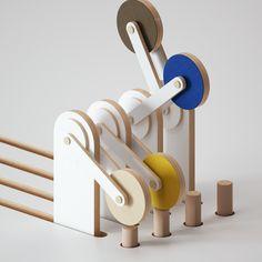 Kinetic sculptures on Behance Sculpture Clay, Abstract Sculpture, Bronze Sculpture, Metal Sculptures, Light Installation, Art Installations, Hr Giger, New Media Art, Tecno