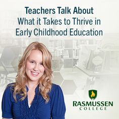 Teachers Talk About What it Takes to Thrive in Early Childhood Education - blog post #education #ece