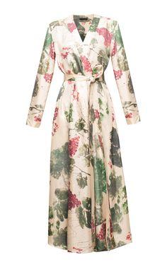 2265671e75 Robes · Silk Floral Printed Robe -  700 Best Designer Dresses