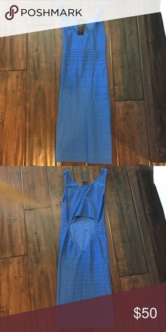 Bebe bodycon dress Royal blue bodycon dress bebe Dresses Mini