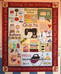 Itching To Be Stitching Quilt Pattern - Quilting Digest