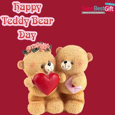 Say You are my sweetest teddy bear to your Valentine with a cute Teddy on Teddy Day. Happy Teddy Day! #HappyTeddyDay #TeddyDay #TeddyDay2019 #ValentineWeek #ValentinesDay2019 #BearHugs #BearLove #SendBestGift Happy Teddy Bear Day, Teddy Bear Gifts, Cute Teddy Bears, Teddy Day Images, Teddy Bear Online, Tedy Bear, Fashion Dresses, Women's Fashion, Experience Gifts