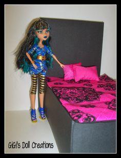 Monster High doll bedding - GiGi's Doll Creations