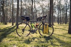Since taking this photo in Stephen F. Austin State Park (TX), I've added a Swift Ozette Hinterland Rando bag riding on a Velo Orange Pass Hunter rack w/ decaleur. Outside of adding fenders, this is my touring setup. Forks Design, Bottom Bracket, Trekking, State Parks, Touring, Bicycle, Swift, Orange