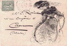 Jessamity: Vintage Letter Art