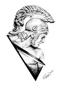 Tattoo Sketches, Tattoo Drawings, Art Sketches, Art Drawings, Arm Tattoo, Sleeve Tattoos, Stippling Art, Mythology Tattoos, Greek Art