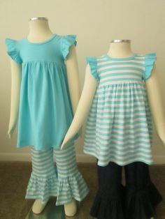Knit Flutter Dresses,