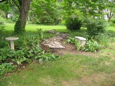 My little path (aka leftover stones I HAD to play with!)