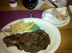 The Bodacious ribeye, on the Dayton restaurant week menu at The Buckhorn Tavern