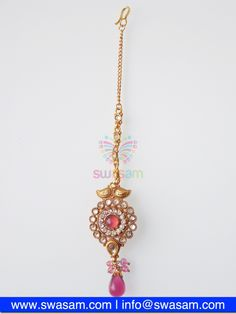 Indian Jewelry Store | Swasam.com: Tikka with Perls and White Stones - Tikka - Jewelry Shop to Buy The Best Indian Jewelry  http://www.swasam.com/jewelry/tikka/tikka-with-perls-and-white-stones-1418.html?___SID=U  #indianjewelry #indian #jewelry #tikka