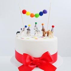 Puppy Birthday Parties, Themed Birthday Cakes, Puppy Party, Dog Birthday, Themed Cakes, Dalmatian Party, Dog Cake Topper, Car Cake Toppers, Cars Theme Cake