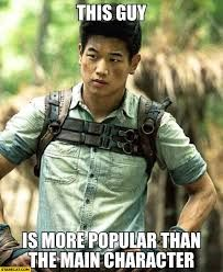 And freaking sexy , more than main character - maze runner memes